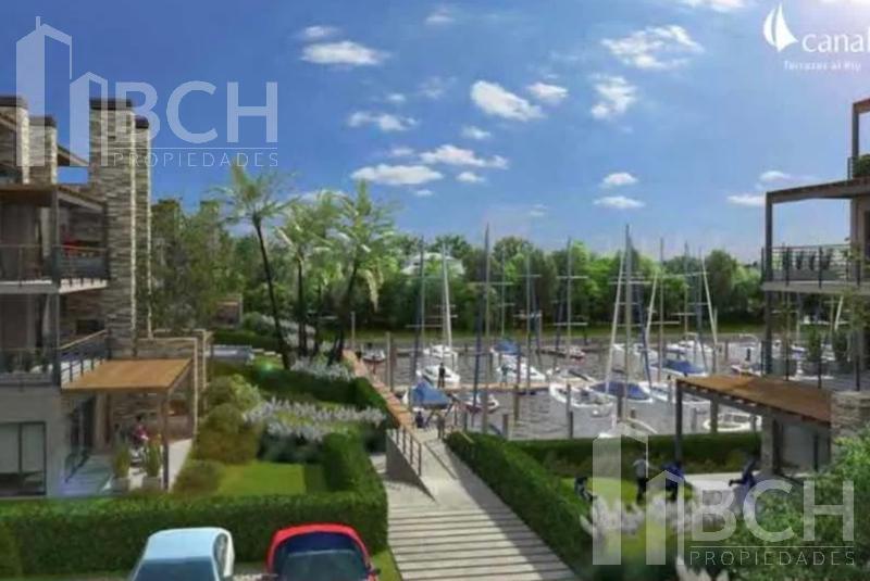 Foto Departamento en Venta en  El Canal,  Villanueva  Departamento dos ambientes con amarra en venta.Barrio nautico El Canal. Terrazas al Rio