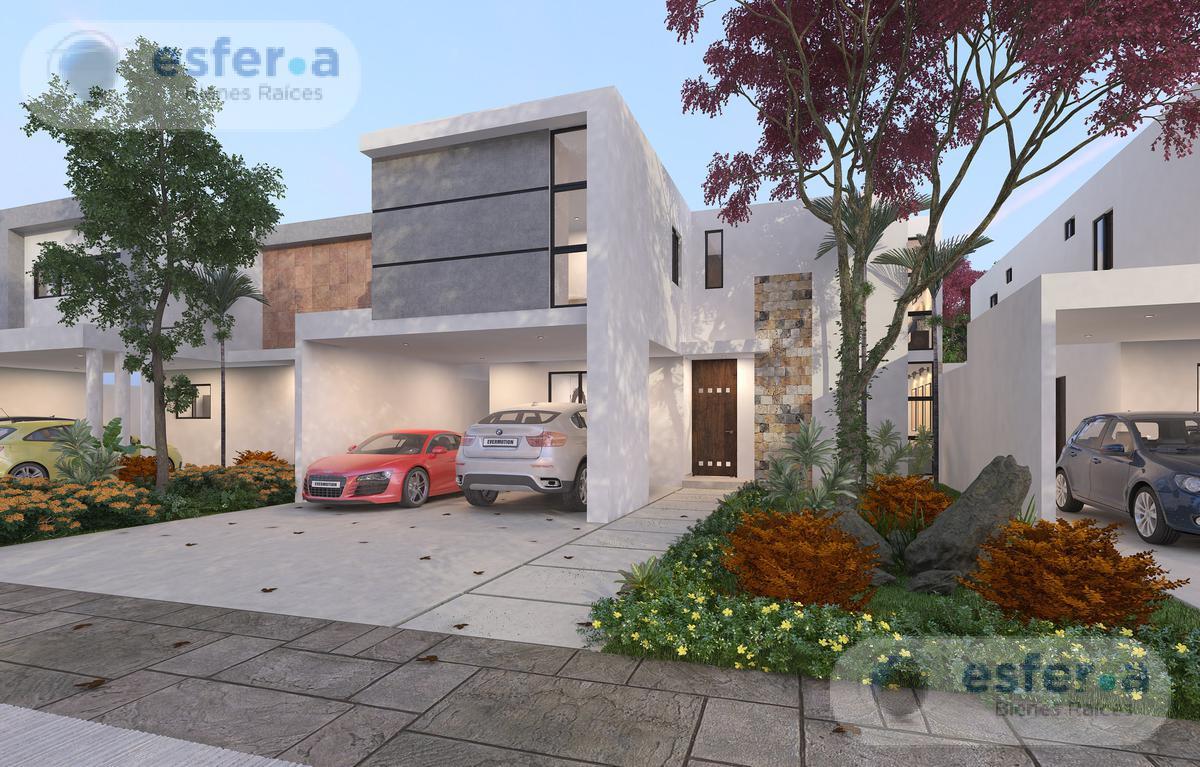 Foto Casa en Venta en  Pueblo Tamanche,  Mérida  Amaranto, Privada Residencial, Modelo 237