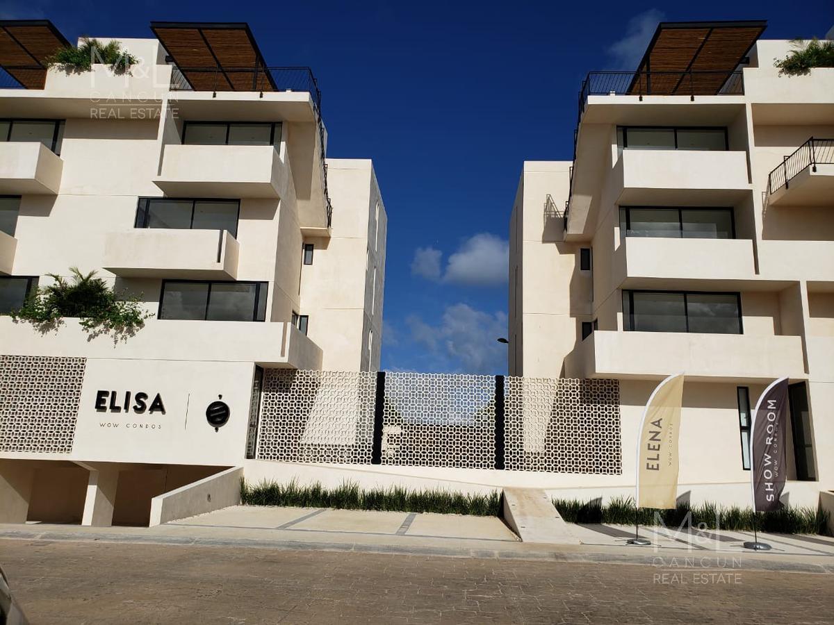 Foto Departamento en Renta | Venta en  Arbolada,  Cancún  Departamento en Venta o Renta en Cancún,  ELISA,  1 recámara con Roof Garden,   Arbolada  Cumbres