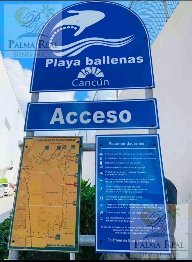Foto Departamento en Venta en  Zona Hotelera,  Cancún  PRECIOSO CONDO EN PLANTA BAJA A PASOS DEL MAR