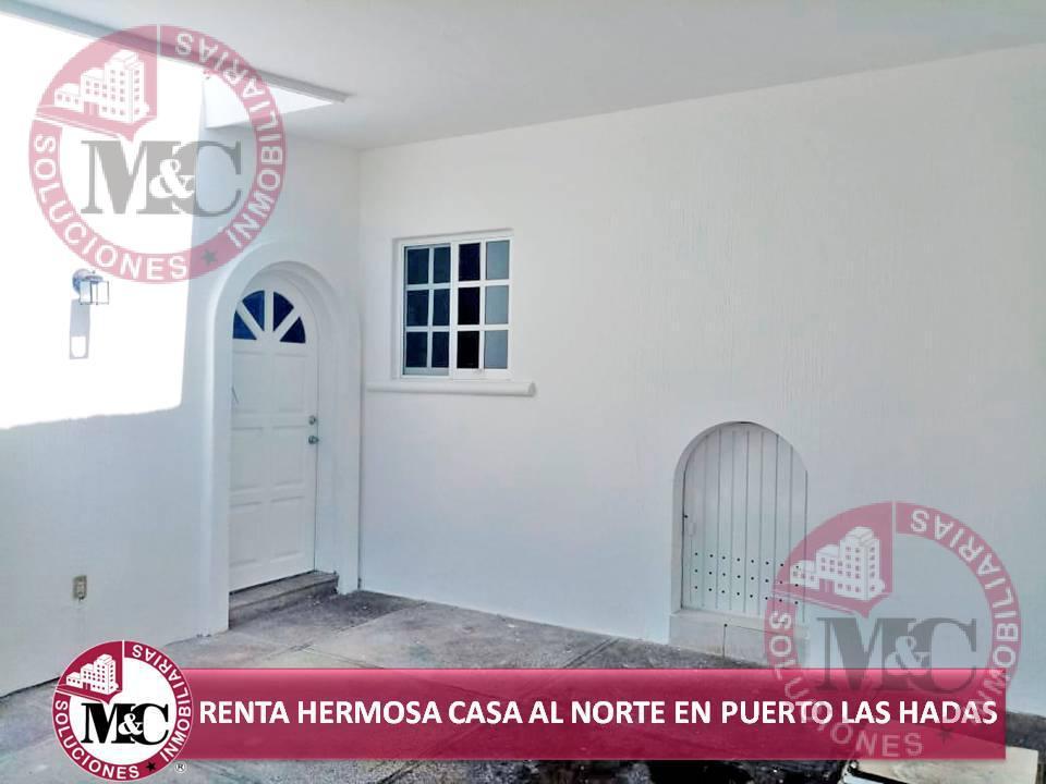 Foto Casa en Renta en  Condominio Puerto las Hadas,  Aguascalientes   MC RENTA HERMOSA CASA AL NORTE EN PUERTO LAS HADAS