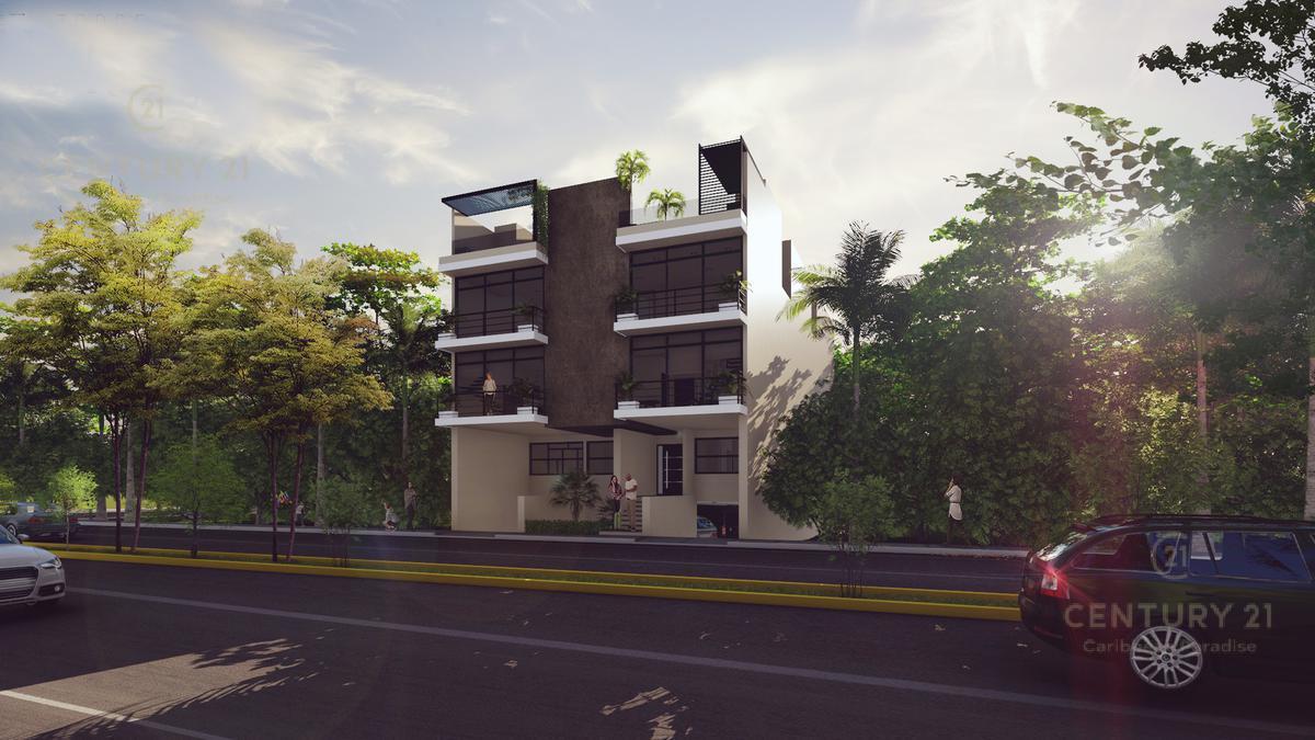 Foto Departamento en Venta en  Playa del Carmen,  Solidaridad  Departamentos 2 rec en exclusivo condominio Playa del Carmen P2192