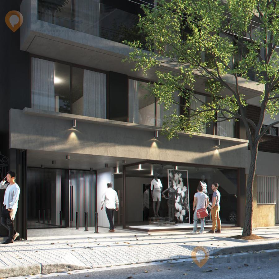 Foto Departamento en Venta en  Centro,  Rosario  Brown al 1600 2 Dormitorios. 72m2. Frente con Balcón.