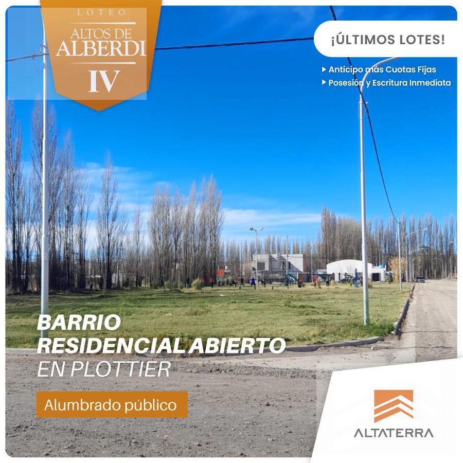 Foto Terreno en Venta en  Plottier,  Confluencia  LOTEO ALTOS DE ALBERDI IV