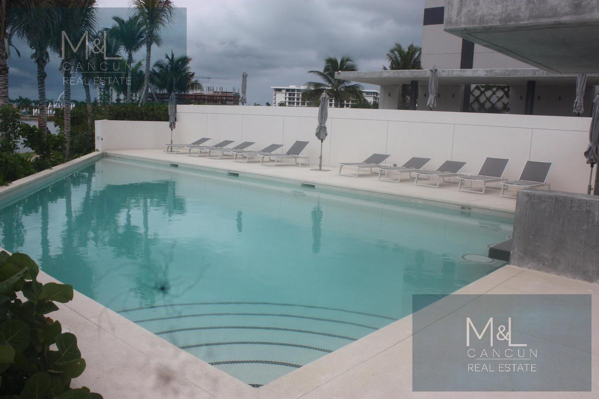 Foto Departamento en Renta en  Puerto Cancún,  Cancún  Departamento en  RENTA o VENTA, Marina Condos, de 1 recámara amueblado, en  Puerto Cancún,  Cancún, Quintana Roo Mèxico