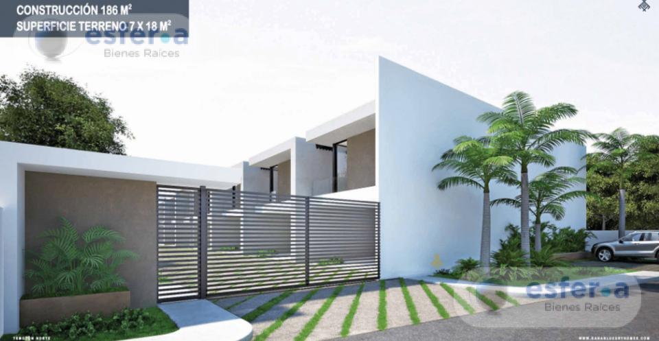 Foto Casa en Venta en  Temozón ,  Yucatán  CASAS EN VENTA AL NORTE DE MERIDA, KANAN TH TEMOZON NORTE