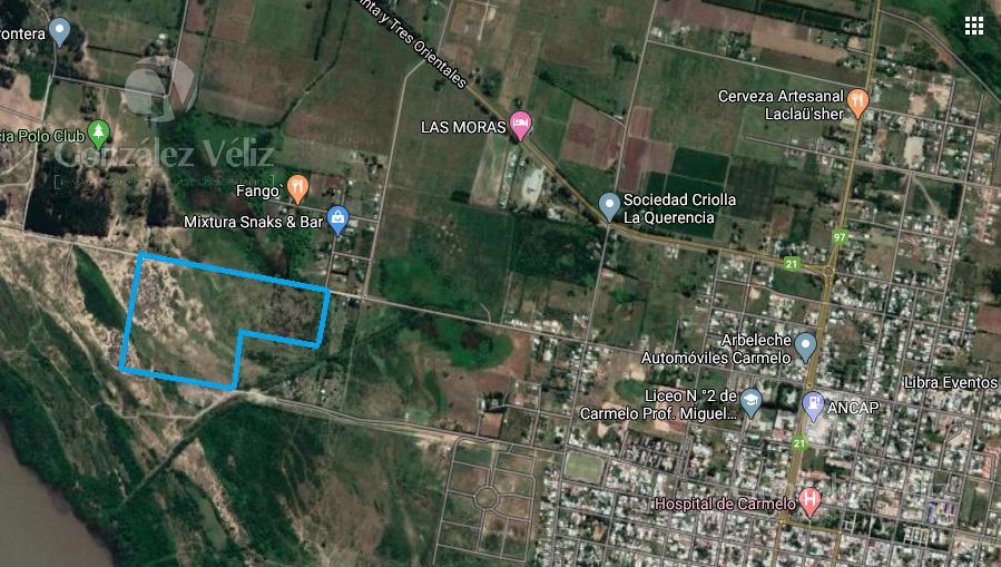 Foto Chacra en Venta en  Carmelo ,  Colonia  Av. Paraguay pasando Regino Aguirre