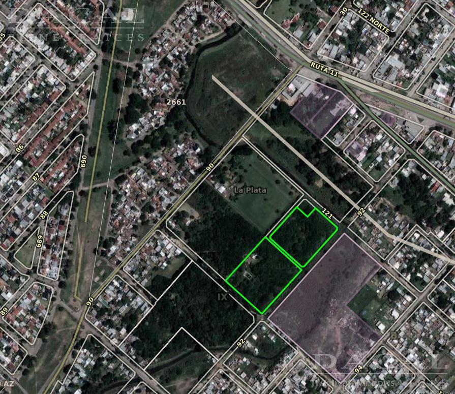 Terreno en Venta, 92 y 120 - La Plata - Buenos Aires