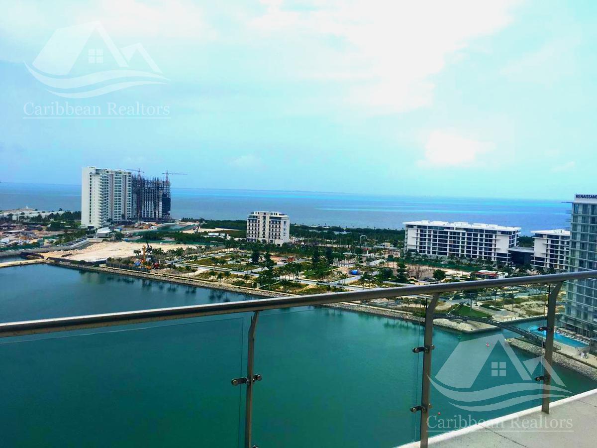 Foto Departamento en Renta en  Puerto Cancún,  Cancún  Departamento en Renta en Cancun/Puerto Cancun/Zona Hotelera/Marina Condos