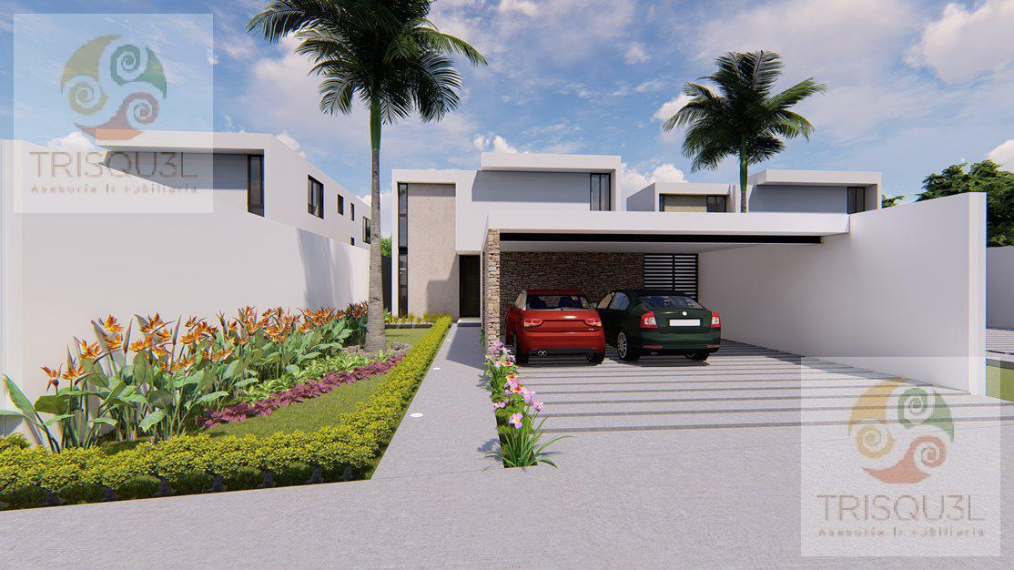 Foto Casa en condominio en Venta en  Pueblo Conkal,  Conkal  Casa en Venta Arborea Conkal,Mérida Yucatán