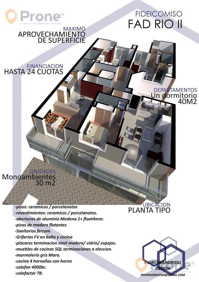 Foto Departamento en Venta en  Echesortu,  Rosario  Río de Janeiro al 800 02-03