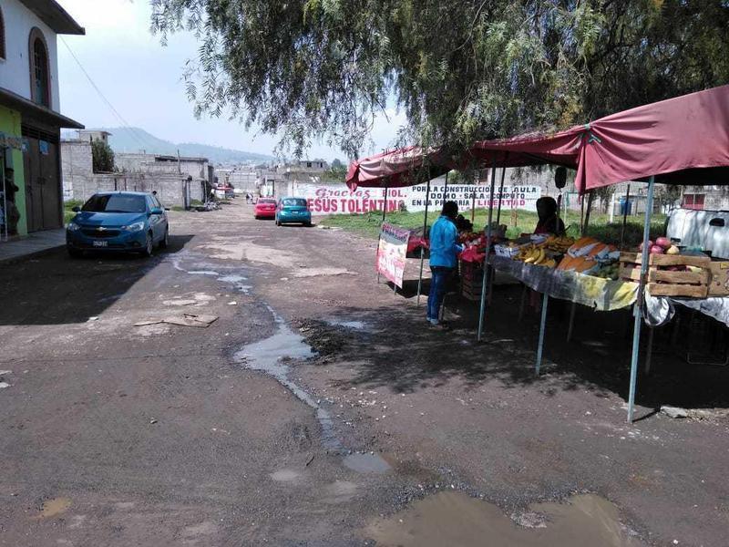 Foto Terreno en Venta en  Chicoloapan ,  Edo. de México  SAN VICENTE CHICOLOAPAN, ESTADO DE MEXICO, EJIDOS DE SAN SEBASTIAN, CALLE PIRULES S/N ESQUINA AV. TENOCHTITLAN, LOTE 49, MZ 2, PARCELA 38