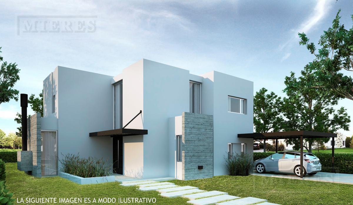 Bonita casa estilo moderno a estrenar ubicada en el Barrio Cerrado Santa Clara