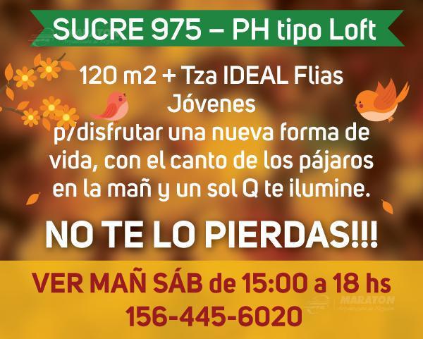 Foto PH en Venta en  Belgrano Chico,  Belgrano  Sucre al 900