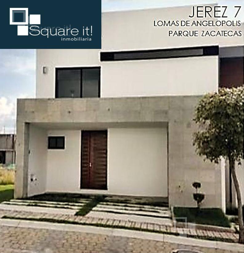 Foto Casa en Venta en  Fraccionamiento Lomas de  Angelópolis,  San Andrés Cholula  Jerez No.7, Parque Zacatecas, Lomas de Angelópolis III, Santa Clara Ocoyucan, Puebla, CP. 72850.