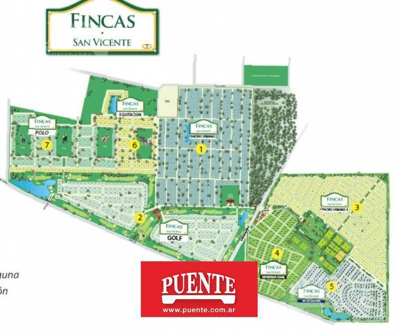 Foto Terreno en Venta en  Barrio Fincas de San Vicente,  Countries/B.Cerrado (San Vicente)  Fincas de San Vicente fondo al Golf