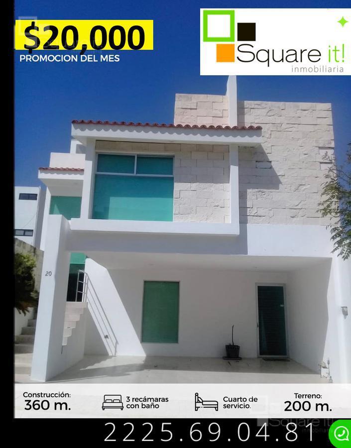 Foto Casa en Renta en  Fraccionamiento Lomas de  Angelópolis,  San Andrés Cholula  Casa en Renta Monterrey No.20, Parque Nuevo León, Cascatta, Lomas de Angelópolis III