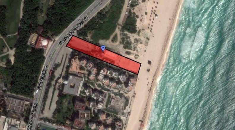 Foto Terreno en Venta en  Zona Hotelera,  Cancún  Terreno residencial en venta, Playa Delfines, Cancúm.