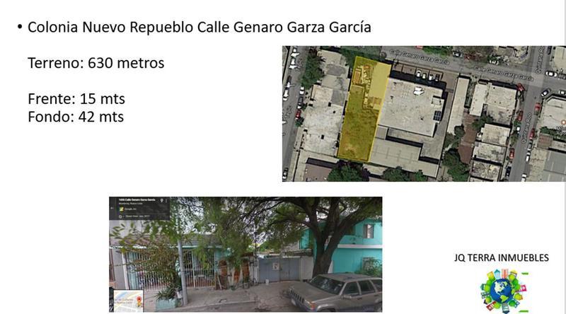 Foto Terreno en Venta en  Nuevo Repueblo,  Monterrey  Terreno en Venta Inversionistas