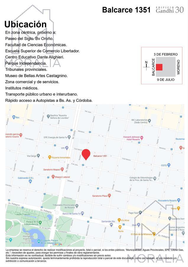 Foto Departamento en Venta en  Centro,  Rosario  Balcarce 1351 - 04 - 07 - 1 dormitorio