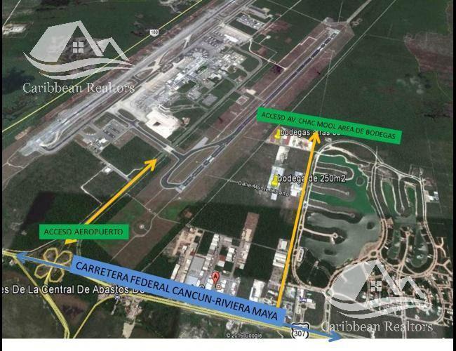 Foto Bodega Industrial en Renta en  Playa del Carmen ,  Quintana Roo  Bodega en Renta en Cancún centro