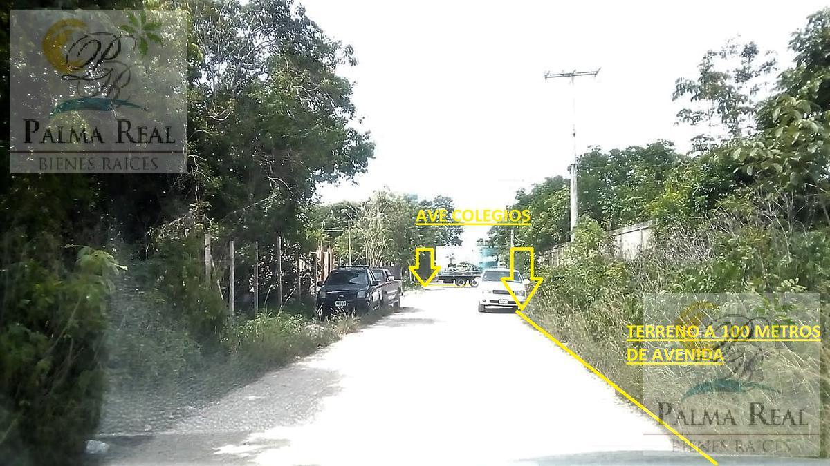 Foto Terreno en Venta en  Supermanzana 106,  Cancún   ¡Recién Enlistado! Terreno espacioso cerca del centro de Cancún