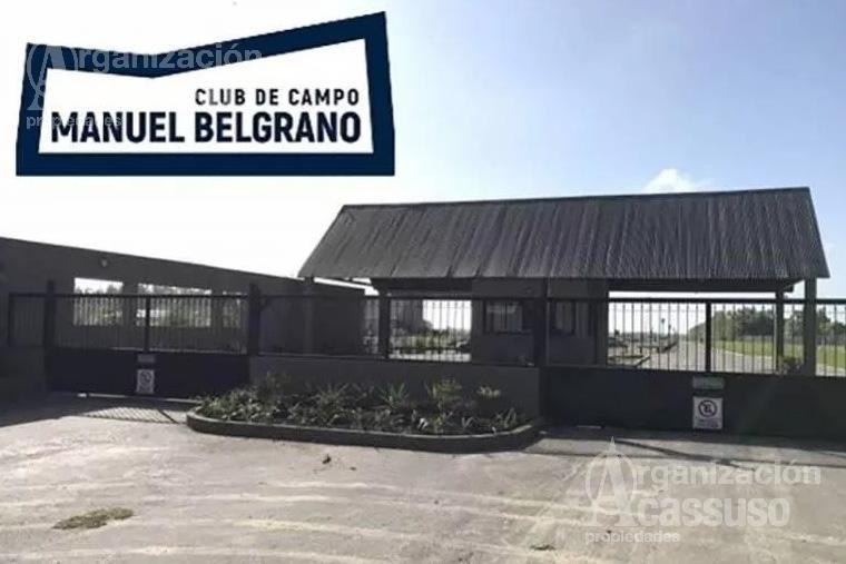 Foto Terreno en Venta en  C.C.Manuel Belgrano,  Countries/B.Cerrado (Escobar)  B° Privado Club de Campo Manuel Belgrano - Escobar