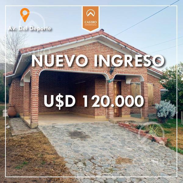 Foto Casa en Venta en  Merlo,  Junin  AV. Del deporte al 600