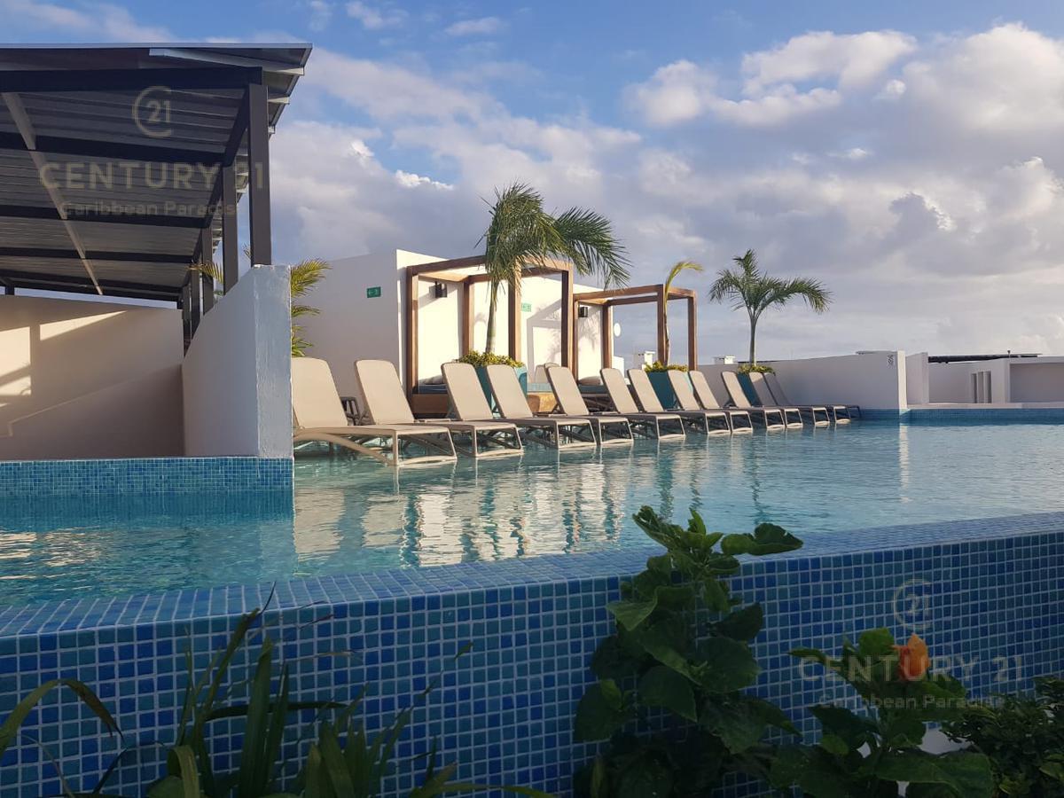 Foto Departamento en Venta en  Playa del Carmen ,  Quintana Roo  Departamento en renta en The Gallery, Playa del Carmen P2807