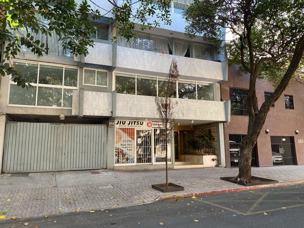 Foto Departamento en Renta en  Condesa,  Cuauhtémoc  Condesa, departamento con BALCÓN a la renta en calle Campeche (GR)