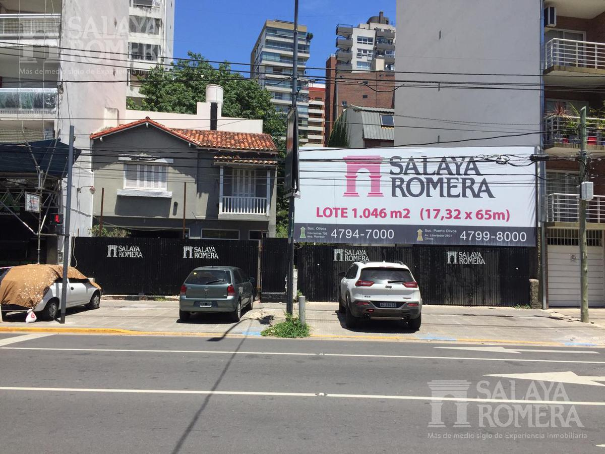 Foto Terreno en Venta en  Olivos-Vias/Rio,  Olivos  Av libertador al 2600