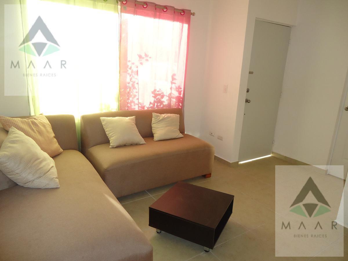 Foto Casa en condominio en Renta en  Jardines del Sur,  Cancún  Se Renta Casa En Cancun Amueblada 3 Recamaras  En Jardines Del Sur 3 Con Doble Filtro De Seguridad
