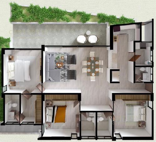 Benito Juárez Apartment for Sale scene image 0