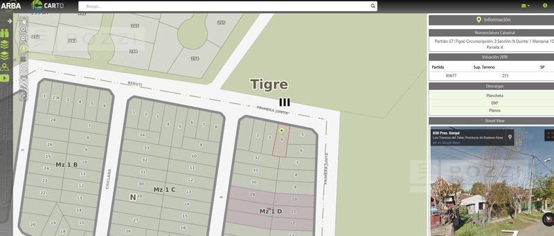 Foto Terreno en Venta en  General Pacheco,  Tigre  Presidente Derqui al 900
