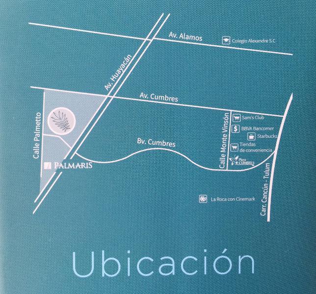 Foto Departamento en Venta | Renta en  Residencial Palmaris,  Cancún  Departamento en Venta o Renta en Cancún, PALMETTO 20, GARDEN 1, 3 recámaras, Palmaris