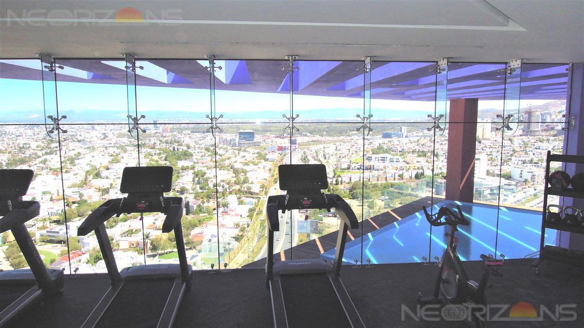 Foto Departamento en Renta en  Lomas del Tecnológico,  San Luis Potosí  Moderno Departamento Nuevo en Renta con Balcón y Vistas Panorámicas en Tangente 52