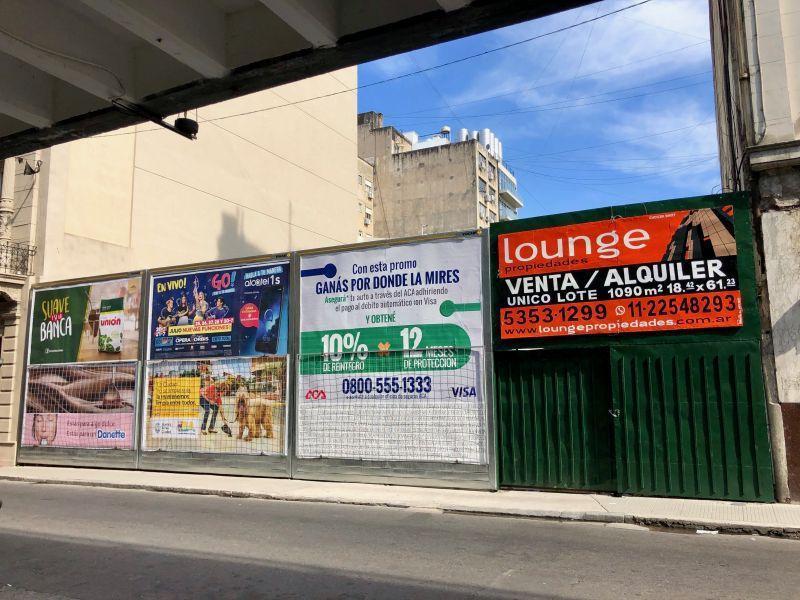 Foto Terreno en Alquiler en  Monserrat,  Centro (Capital Federal)  Piedras 157