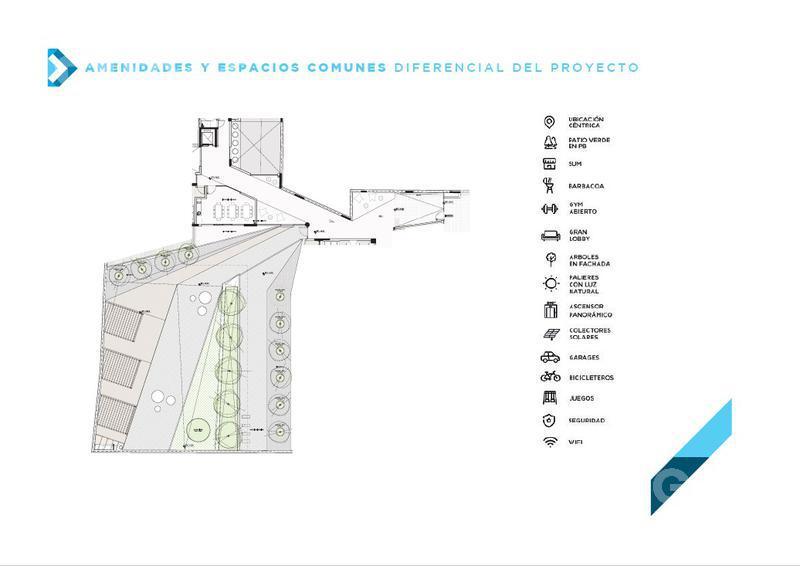 Foto Departamento en Venta en  Tres Cruces ,  Montevideo  Unidad 201