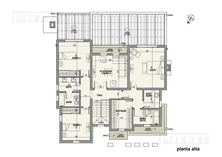 Mieres Propiedades - Casa de 297 mts en Ayres Plaza