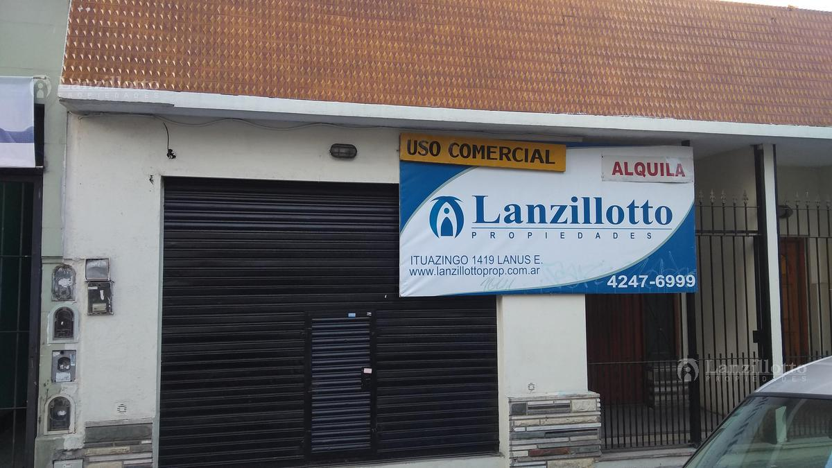 Foto Local en Alquiler en  Lanús Este,  Lanús  Sitio de Montevideo al 1264 , PH al  Frente  LOCAL COMERCIAL