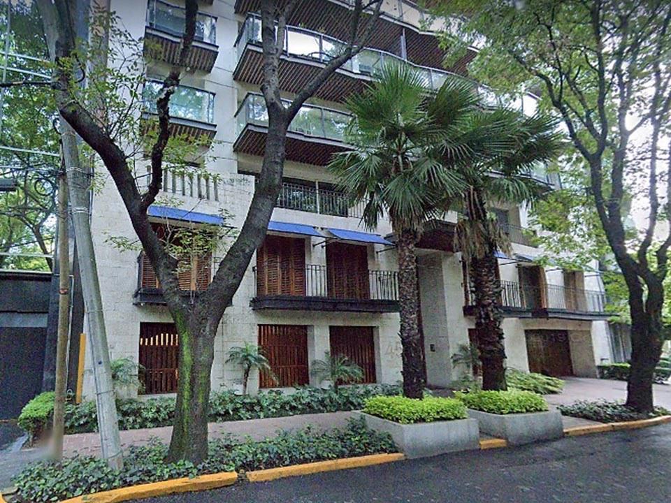 Foto Departamento en Renta en  Polanco,  Miguel Hidalgo  Polanco, departamento amueblado con BALCÓN, a la renta en Campos Elíseos (LD)