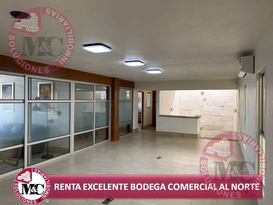 Foto Edificio Comercial en Renta en  Morelos,  Aguascalientes  Renta excelente bodega comercial al norte