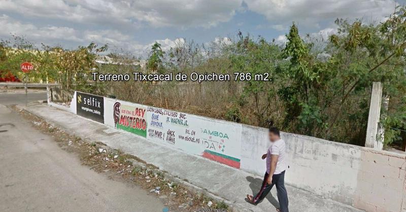 Foto Terreno en Renta | Venta en  Tixcacal Opichen,  Mérida  Se Vende o Renta Terreno Comercial en Esquina Frente a Dos Av. en Tixcacal