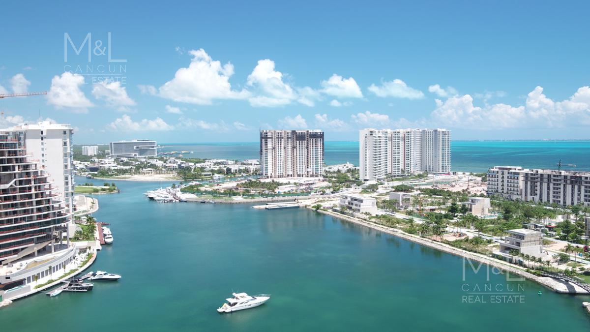Foto Departamento en Venta en  Puerto Cancún,  Cancún  SLS HARBOUR BEACH CANCUN, Departamento Garden en Venta de 3 Recámaras