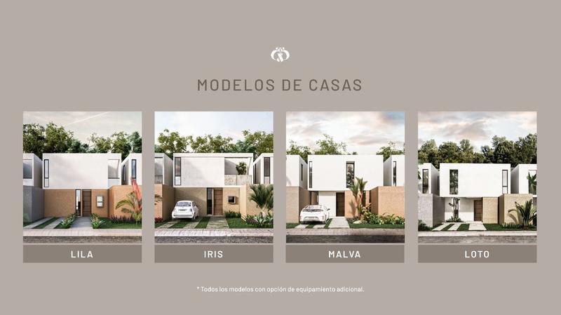 Foto Casa en Venta |  en  Fraccionamiento Real Montejo,  Mérida  AMARAL, CASAS DE 2 Y 3 RECAMARAS DESDE 1'160,000