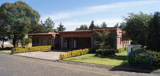 Foto Casa en Venta | Renta en  Club de Golf los Encinos,  Lerma          Club de Golf los Encinos, Lerma, Mex.,casa en venta