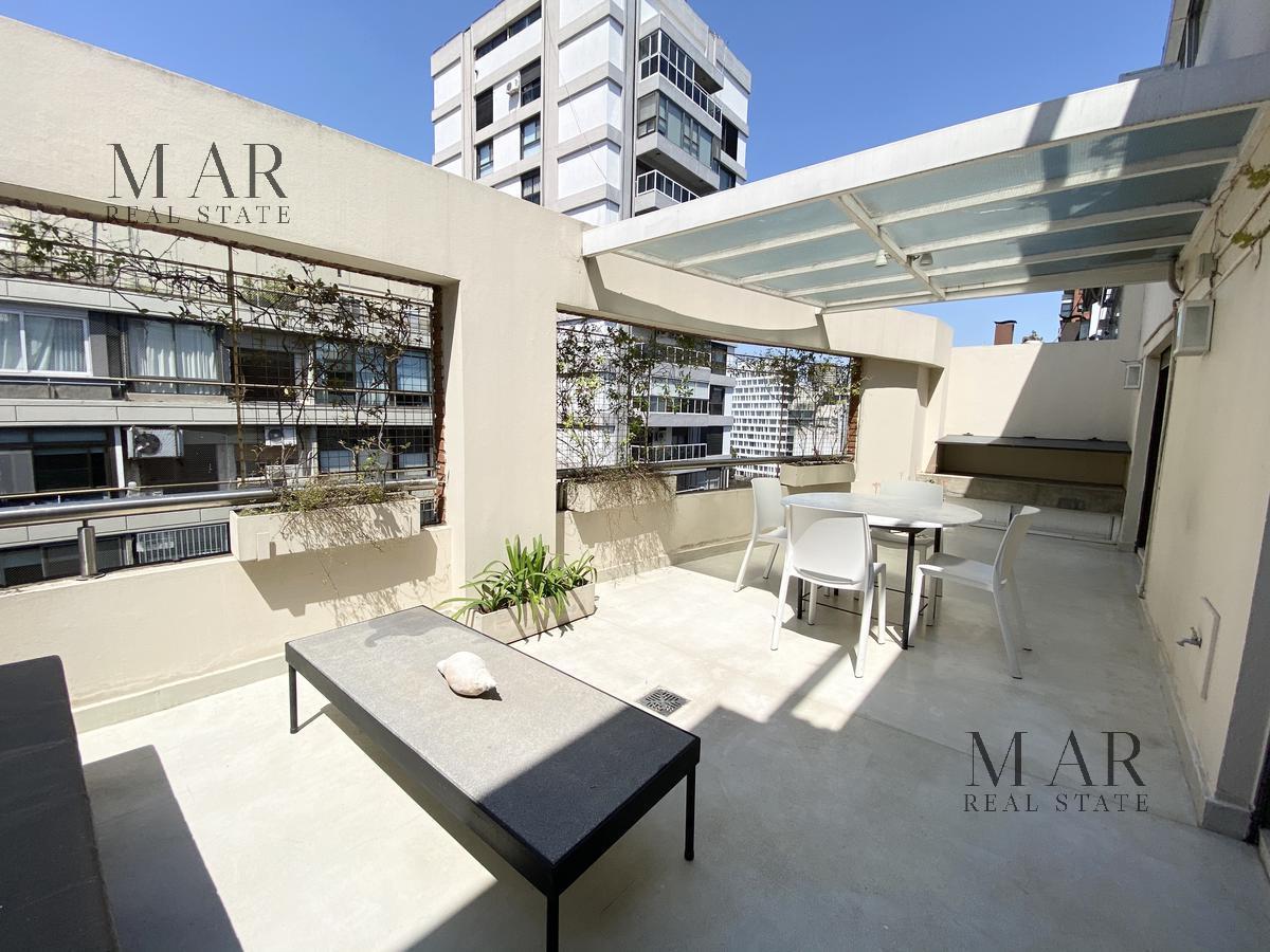 Duplex  con cohera. Increible balcon terraza