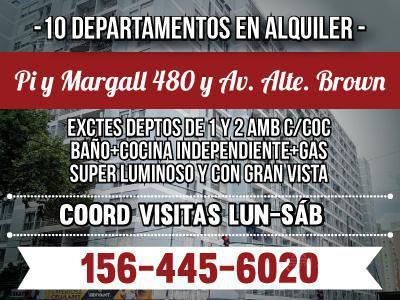 Foto Departamento en Alquiler en  Boca ,  Capital Federal  Pi Y Margall al 400