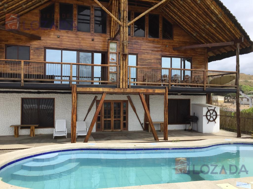 Foto Casa en Venta en  Ruta del Sol,  Ruta del Sol  Vendo casa Manglaralto -  Frente al mar