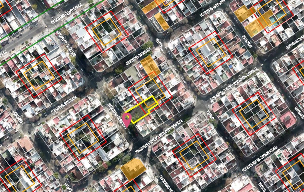 Foto Terreno en Venta en  Belgrano ,  Capital Federal  Av. Cramer al 2700